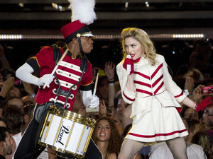 Madonna's 'MDNA' tour gets underway in Tel Aviv, Israel