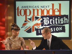 America's Next Top Model Season 18 - The Finale - Kelly Cutrone, Tyra Banks, Nigel Barker and Jay Manuel