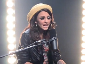 Cher Lloyd performs Usher's 'OMG'.