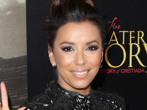 Eva Longoria attends ARC Entertainment's 'For Greater Glory' premiere at the AMPAS Samual Goldwyn Theater, Beverly Hills
