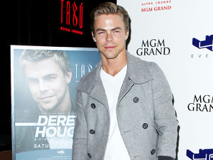 Derek Hough celebrates his birthday at TABU Boutique Nightclub at MGM Grand Resort and Casino