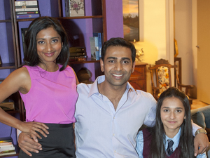Neighbours' Kapoor family in their new home