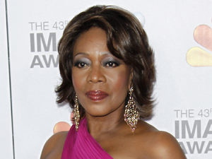 Alfre Woodard arrives at the 43rd NAACP Image Awards on Friday, Feb. 17, 2012, in Los Angeles