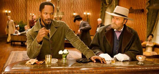 Jamie Foxx as Django in Quentin Tarantino's <em>Django Unchained</em>.