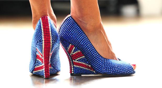 Designer Aruna Seth's Jubliee shoes