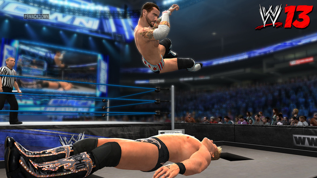 Turnbuckle dive