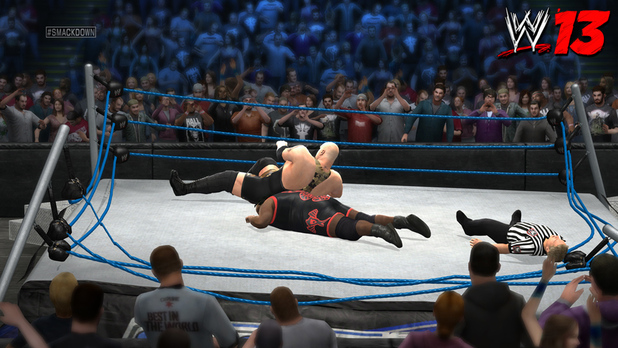 &#39;WWE 13&#39; screenshot