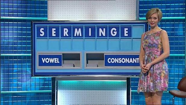 The word MINGE features on Countdown