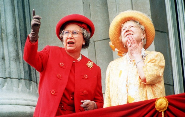 The Queen and Queen Mother