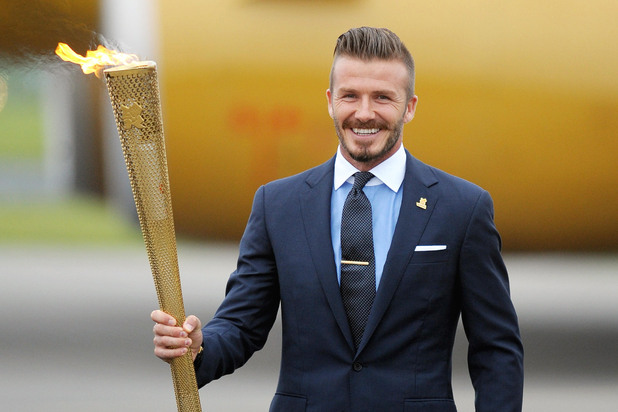 Celebrities carrying the Olympic Torch - Rolling Gallery