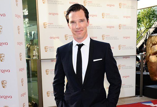 Benedict Cumberbatch at the BAFTA Television Awards 2012