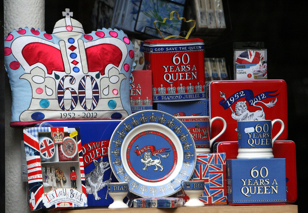 Diamond Jubilee: Memorabilia and Merchandise