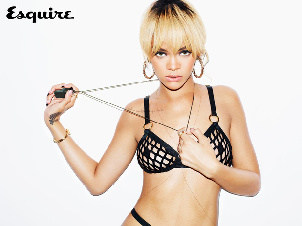 Rihanna poses for Esquire