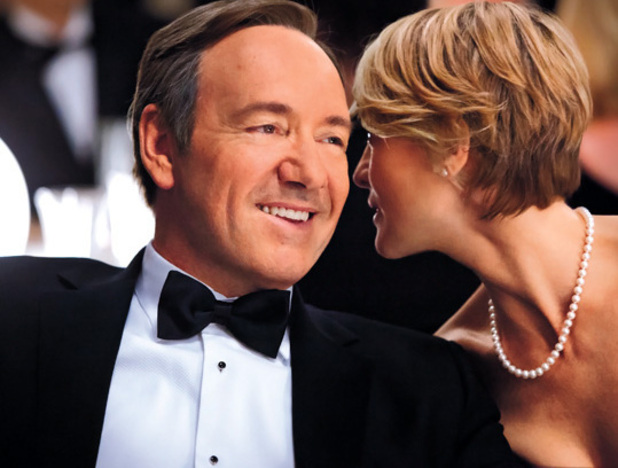 Kevin Spacey in David Fincher's 'House of Cards'