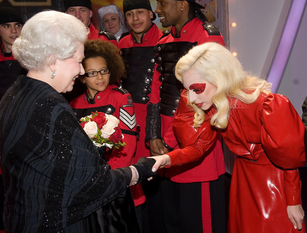 The Queen and Lady GaGa