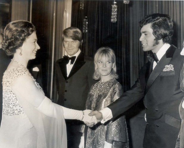 The Queen and Engelbert Humperdinck