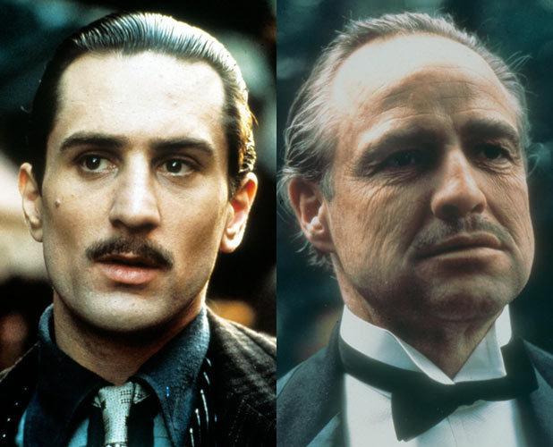Robert De Niro, Marlon Brando