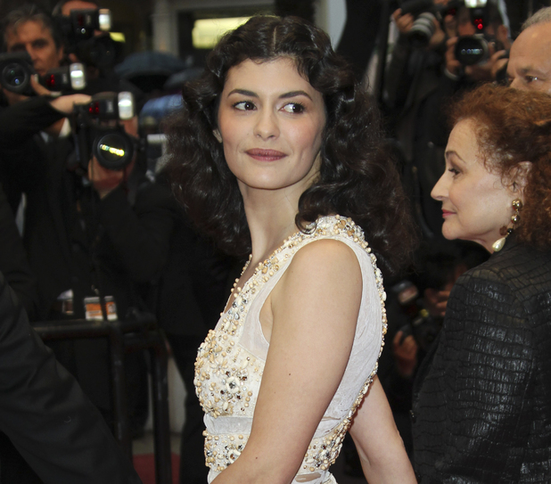 Audrey Tautou, 65th Cannes Film Festival awards ceremony (May 2012)