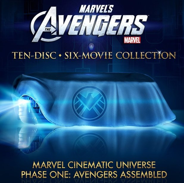 Avengers blu-ray collection