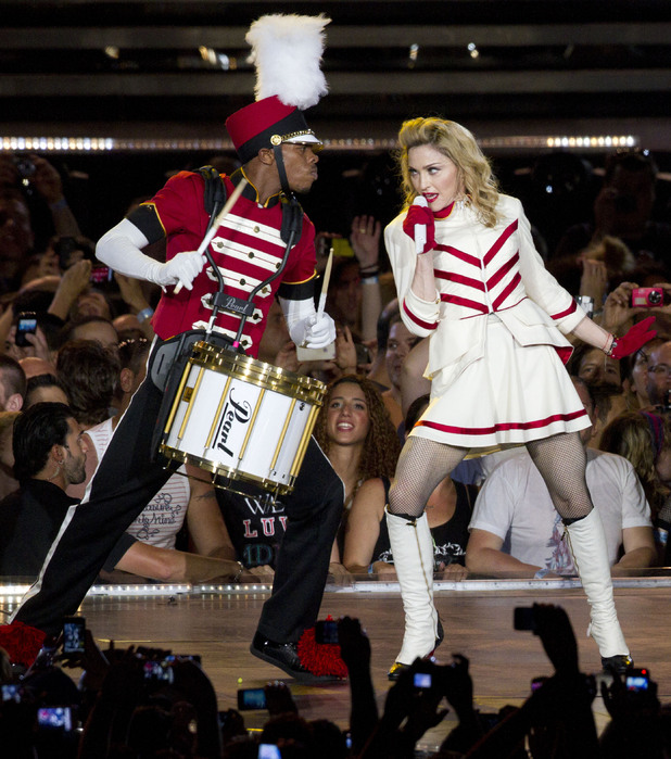Madonna's 'MDNA' tour gets underway in Tel Aviv, Israel