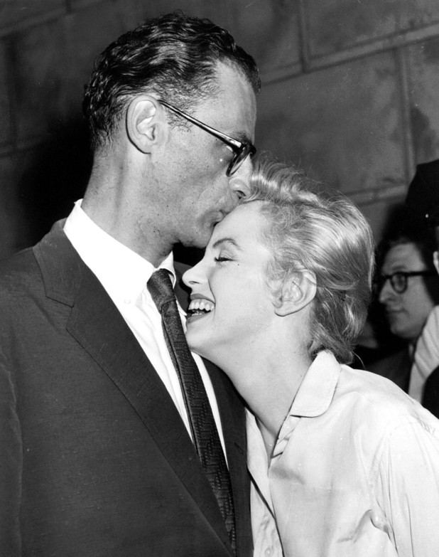 Marilyn Monroe and Arthur Miller