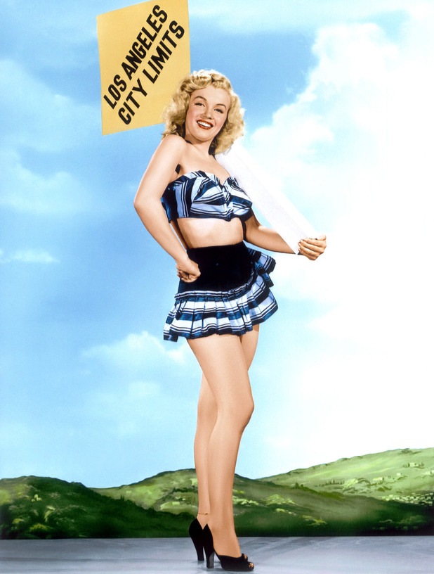 Marilyn Monroe circa 1948