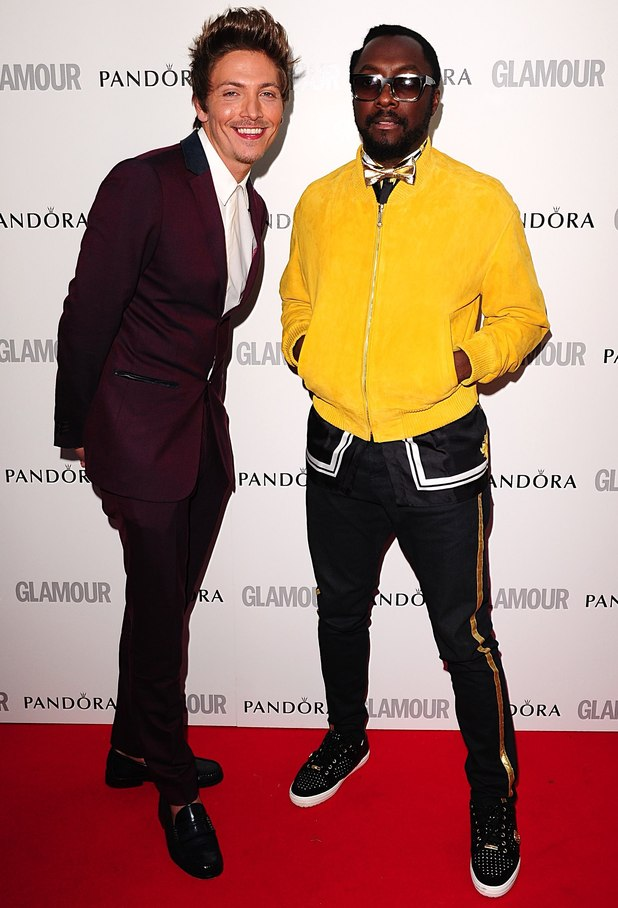 Glamour Women of the Year Awards: Tyler James and will.i.am