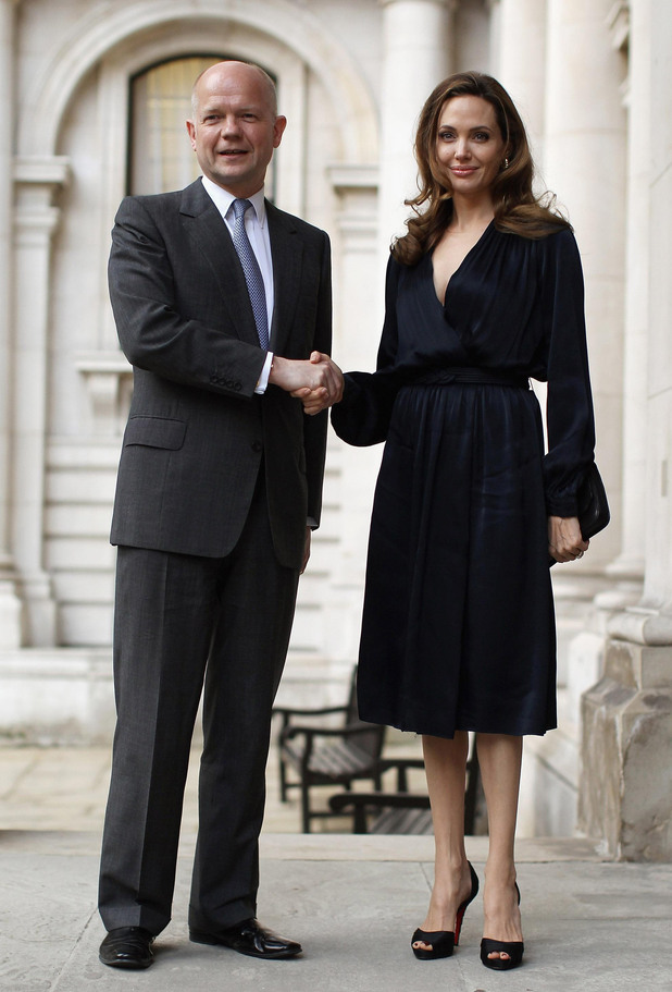 William Hague, Angelina Jolie