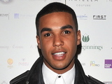 Lucien Laviscount attends a fundraising dinner for the Make A Wish Foundation and to mark the Queen's Diamond jubilee in London