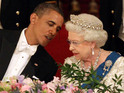 "US President congratulates the monarch on her ""historic occasion""."