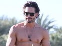 Joe Manganiello says his impressive physique was initially a barrier to acting.