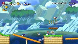 New Super Mario Bros Wii U E3 2012