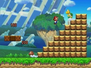 New Super Mario Bros Wii U first look
