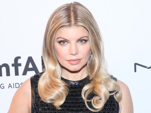 Fergie aka Stacy Ferguson 3rd Annual amfAR Inspiration Gala held at The New York Public Library - Stephen A. Schwarzman Building - Arrivals New York City