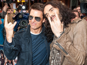 Rock of Ages UK Premiere: Tom Cruise and Russell Brand