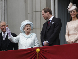 Prince Charles, The Queen, Prince William, The Duchess of Cambridge