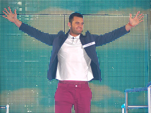 Big Brother 2012 Launch Night: Conor enters the house