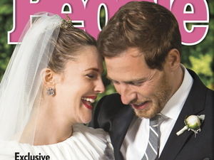 Drew Barrymore and Will Kopelman on the cover of People Magazine