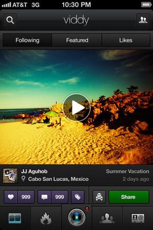 Viddy app screenshot