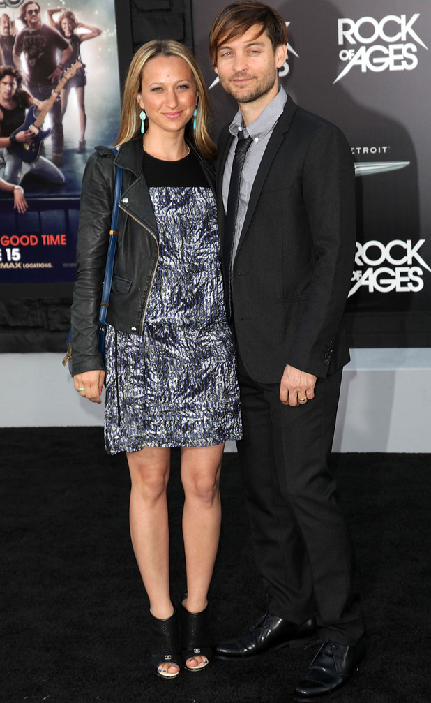 Rock of Ages Premiere: Jennifer Meyer and Tobey Maguire