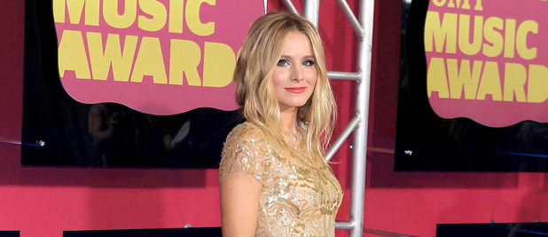 Kristen Bell arriving at the 2012 CMT Music Awards in Nashville