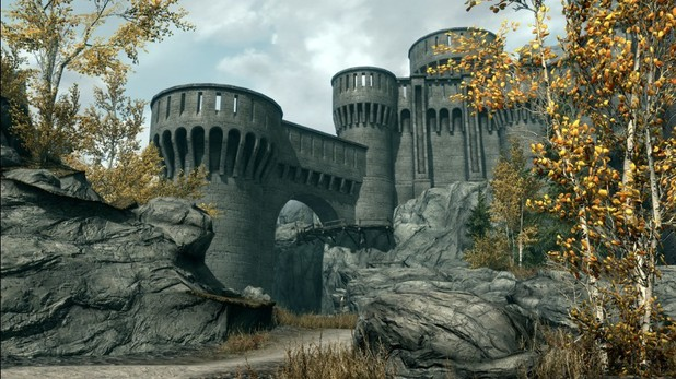 Skyrim Dawnguard DLC screenshot