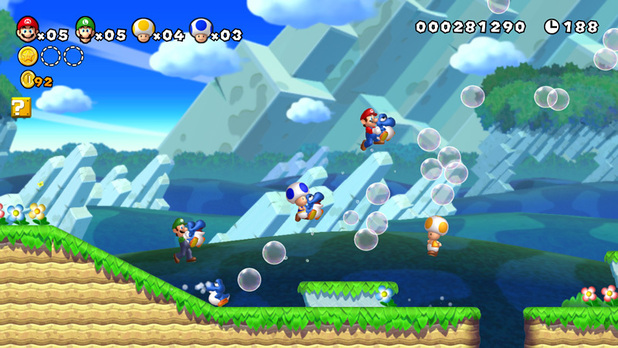 Super Mario Bros (Wii U) screenshot