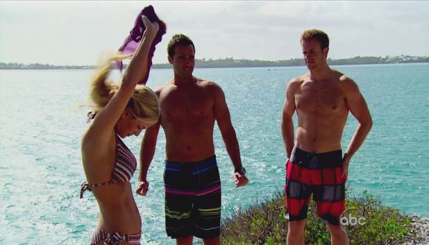 Emily Maynard, John Wolfner and Nate Bakke, The Bachelorette S08 E04