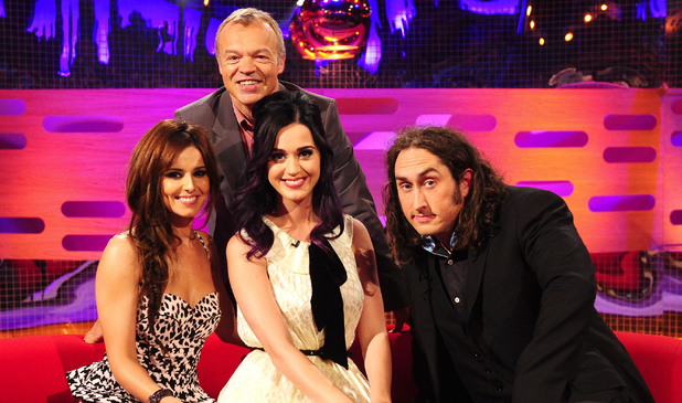 Cheryl Cole and Katy Perry on The Graham Norton show