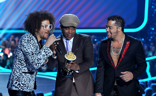 Another day, another award for LMFAO...