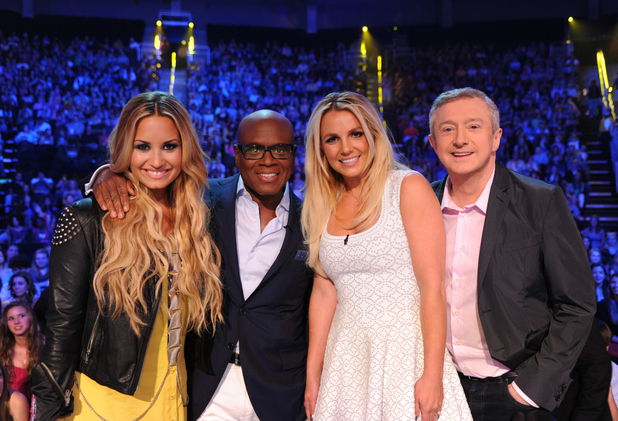 The Kansas X Factor judges.
