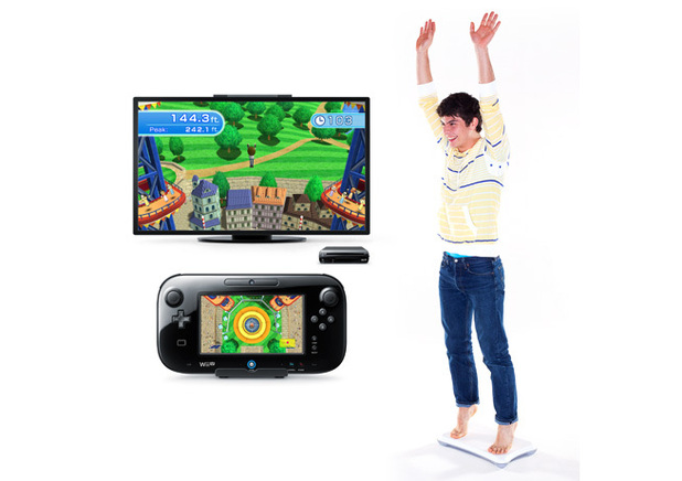 Wii Fit U screenshot