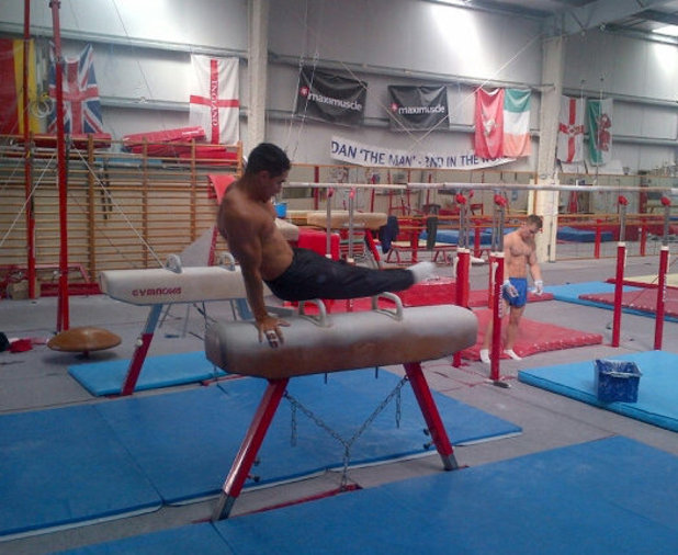 Louis Smith, gymnast