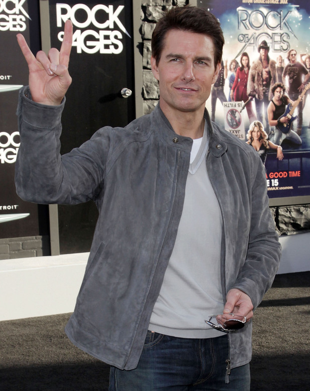 Rock of Ages Premiere: Tom Cruise
